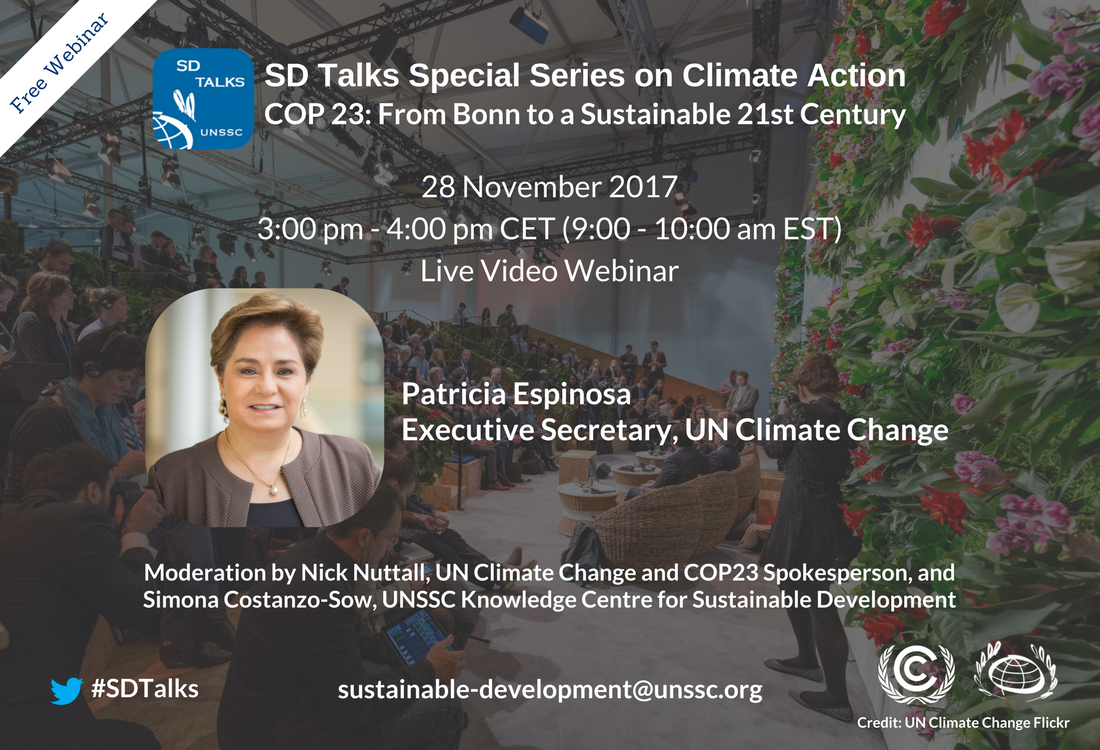 SD Talks on Climate Action with Patricia Espinosa