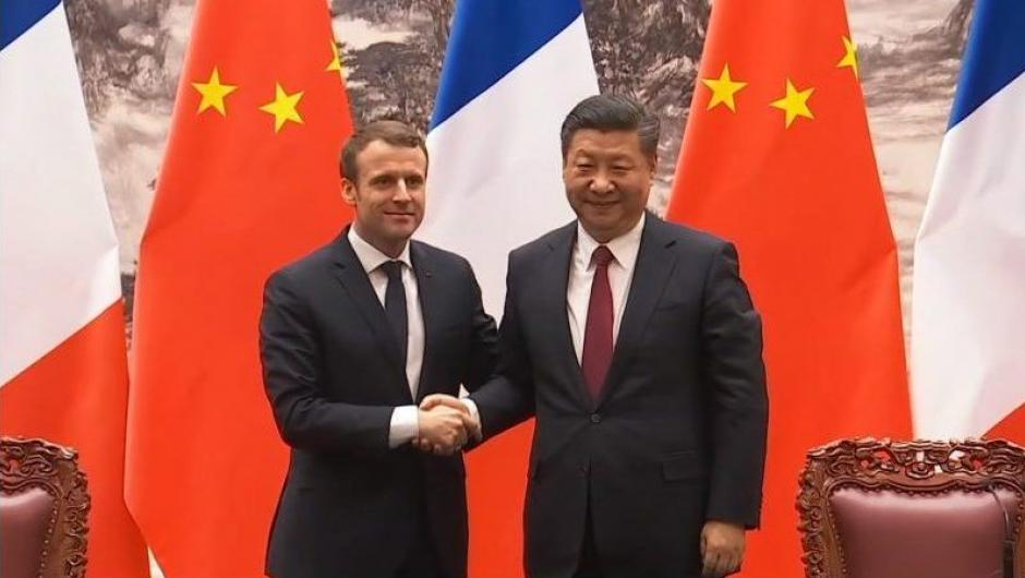 French and Chinese Presidents